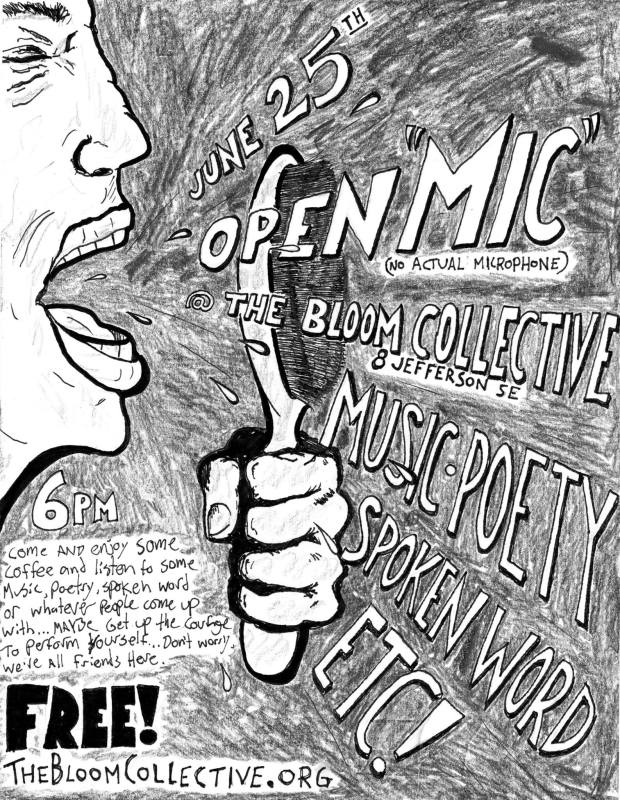 Open Mic @ the Bloom